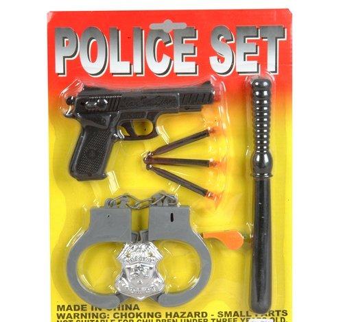 8 PC POLICE SET, Case of 72