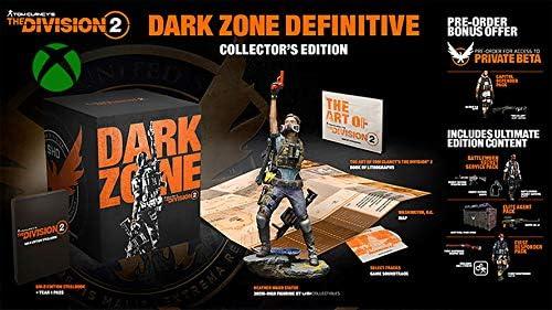 トム・クランシー ザ・ディビジョン2 ダークゾーン ディファイブ コレクター バンドル Xbox One用