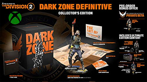 Tom Clancy's The Division 2 Dark Zone Definitive Collector Bundle for Xbox One (The Division Game Of The Year Edition)