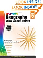 #8: Spectrum Geography, Grade 5: United States of America