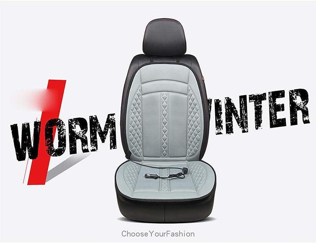 Hevare 12V Non-slip Heating Warmer Pad Cover Heated Car Seat Cushion Seat Cushions