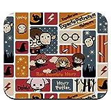 Harry Potter Cute Chibi Pattern Low Profile Thin Mouse Pad Mousepad