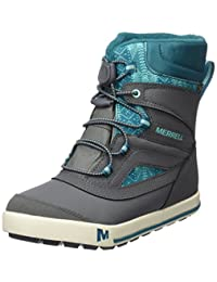 Merrell Girl's Snow Bank 2.0 Waterproof Ankle Boots