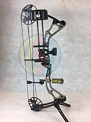 """ASD Mirage Compound Bow 15-70Lbs 19-31/"""" 300Fps *Camo* Ultimate Package *"""