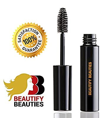 Beautify Beauties Volumizing Mascara Best Eyelash Enhancer Voluminous Mascaras for Promoting Fuller Luscious Lashes A Unique Formula That Lengthens & Curls Your Lashes, Black