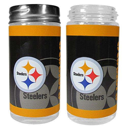 NFL Pittsburgh Steelers Salt & Pepper Shakers, Black,