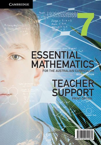Essential Mathematics for the Australian Curriculum Year 7 Teacher Support Print Option (Essential Mathematics For The Australian Curriculum Year 7)