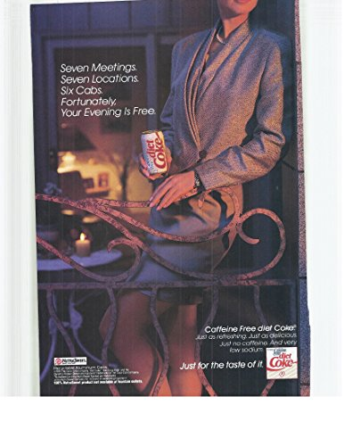 1991-vintage-magazine-advertisement-diet-coke-nutrasweet