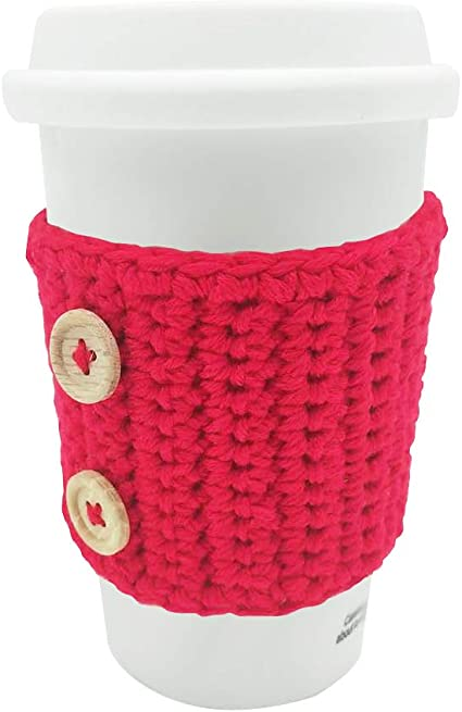 Beer soda pop can cozy reusable insulating sleeve coffee tea cup mug star stitch teal sparkly