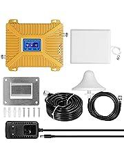 Amplifikatör 900/1800/2100 GSM DCS WCDMA 2G/3G/4G LTE Evrensel Sinyal Güçlendiriciler Akıllı Tekrarlayıcılar Kiti Evde Kullanım için Cep Telefonu Sinyal Güçlendiriciler MAYIO