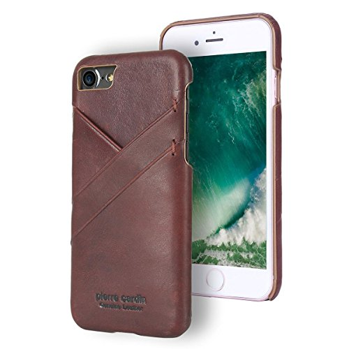 Capa para iPhone 7 iPhone 8 Original, Pierre Cardin, PC19-03, Vermelho
