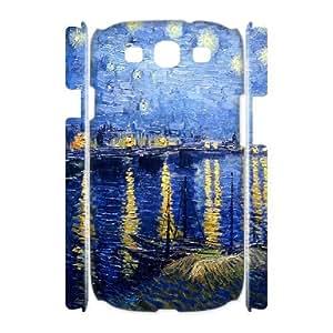 3D Samsung Galaxy S3 Case Ronald Starry Night, Sexyass, [White]