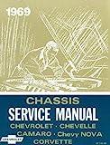 1969 CHEVROLET CORVETTE REPAIR SHOP & SERVICE MANUAL - INCLUDES: ALL MODELS CHEVY VETTE 69