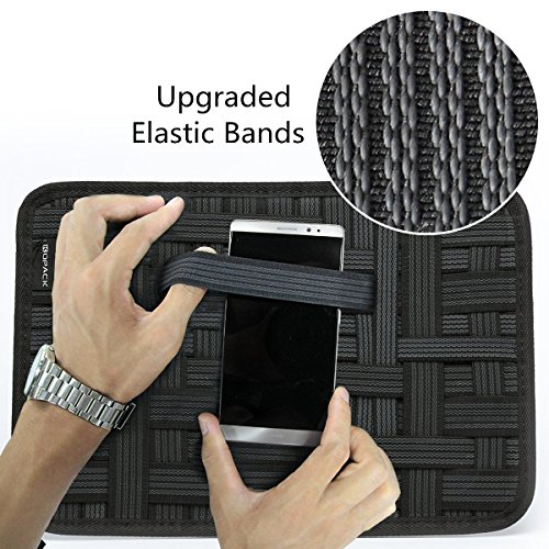 Kopack Electronics Organizer Board Cord Gadget Organizer With Storage bag for Power Bank/Charging Cable/Digital Device by kopack (Image #3)