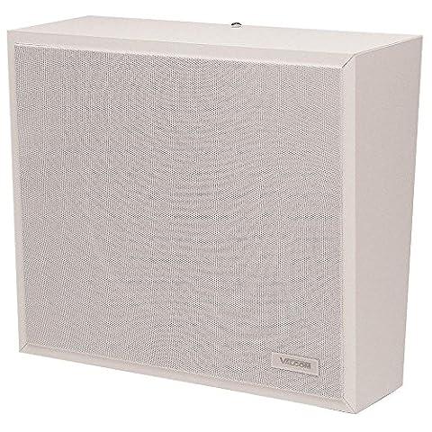 1Watt 1Way Wall Speaker - White (White Ion Speaker)