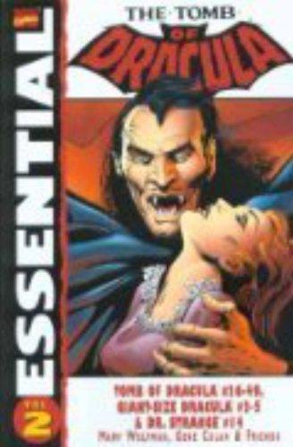 Essential Tomb of Dracula, Vol. 2 (Marvel Essentials) pdf epub