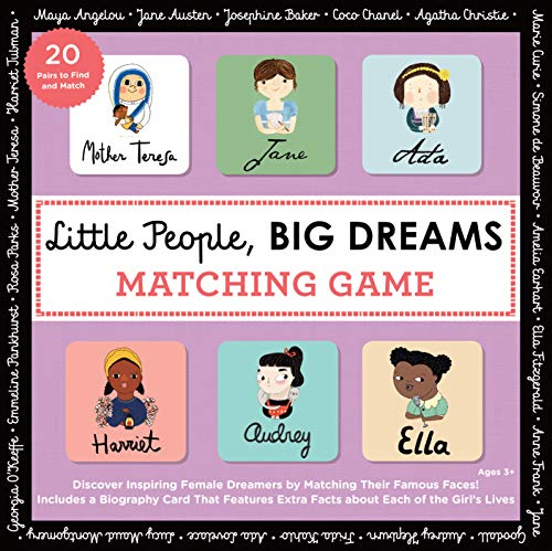 (Little People, BIG DREAMS Matching Game: Put Your Brain to the Test with All the Girls of the Little People, BIG DREAMS Series!)