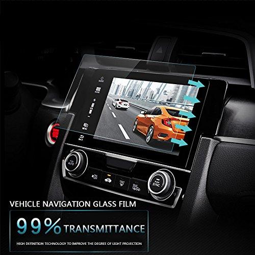 Duoying Mp5 Templado Vidrio GPS Protector de Pantalla Premium 12 Pulgadas 0.3 mm Accesorios de Etiqueta
