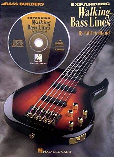 Expanding Walking Bass Lines (Bass Builders) [Ed Friedland] (Hojas de Musica)