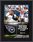 """Marcus Mariota Tennessee Titans 10.5"""" x 13"""" First NFL Win Sublimated Plaque - Fanatics Authentic Certified"""