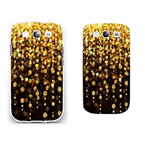 Samsung Galaxy S3 Cool Sparkling Hard Plastic Protector Case Back Cover