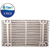 Tier1 Aprilaire 410 Air Purifier Replacement Filter for Models 1410 2410 3410 and 4400 4 Pack