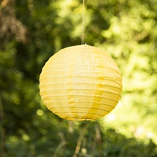 8-in-Pastel-Yellow-Nylon-Lantern