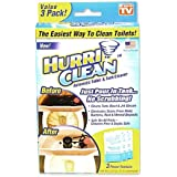 Hurriclean 3-Pack Automatic Toilet Cleaner, As Seen on TV