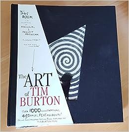 the art of tim burton book uk