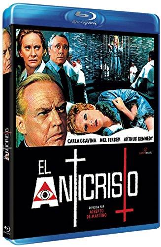 The Antichrist ( L'anticristo ) ( The Anti christ ) [ Blu-Ray, Reg.A/B/C Import - Spain - Luigi Anti