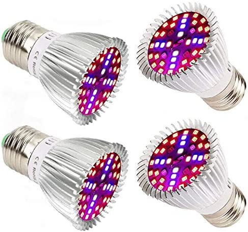 Likesuns LED Plant Grow Light for Indoor Plants, 150 LED 3-Head 75W, Full Spectrum White Sunlike Plant Grow Lights for Seedling,Timing Function 3 6 12H, 5 Dimmable Levels, 3 Switch Modes Adjustable