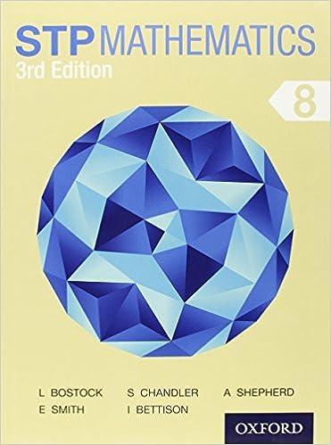 STP Mathematics 8 Student Book 3rd Edition Linda Bostock