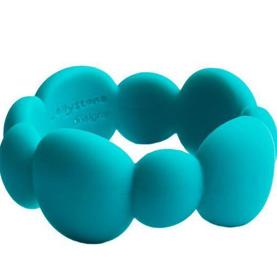Jellystone Pebble Bangle Blueberry Jellystone Designs