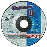 United Abrasives 7'' X 1/8'' X 7/8'' Challenger II 100 Grit Aluminum Oxide Type 29 Blending Disc
