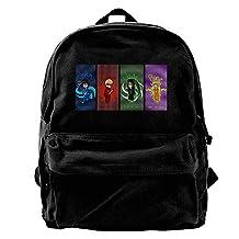 VCARETF Canvas Backpacks Homestuck Beta Kids Canvas Backpack Travel Rucksack Backpack Daypack Knapsack Laptop Shoulder Bag