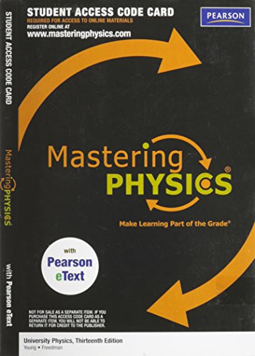 Mastering Physics: Make Learning Part of the Grade (Physics Mastering Physics compare prices)