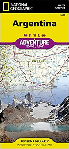 Argentina National Geographic Adventure Map National Geographic - Argentina geographical map
