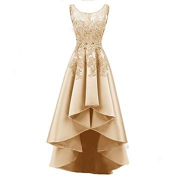 SHJJK Vestido de Encaje Bordado Dignified Atmosphere Banquet Vestido de Noche Elegante Fiesta de Verano Larga