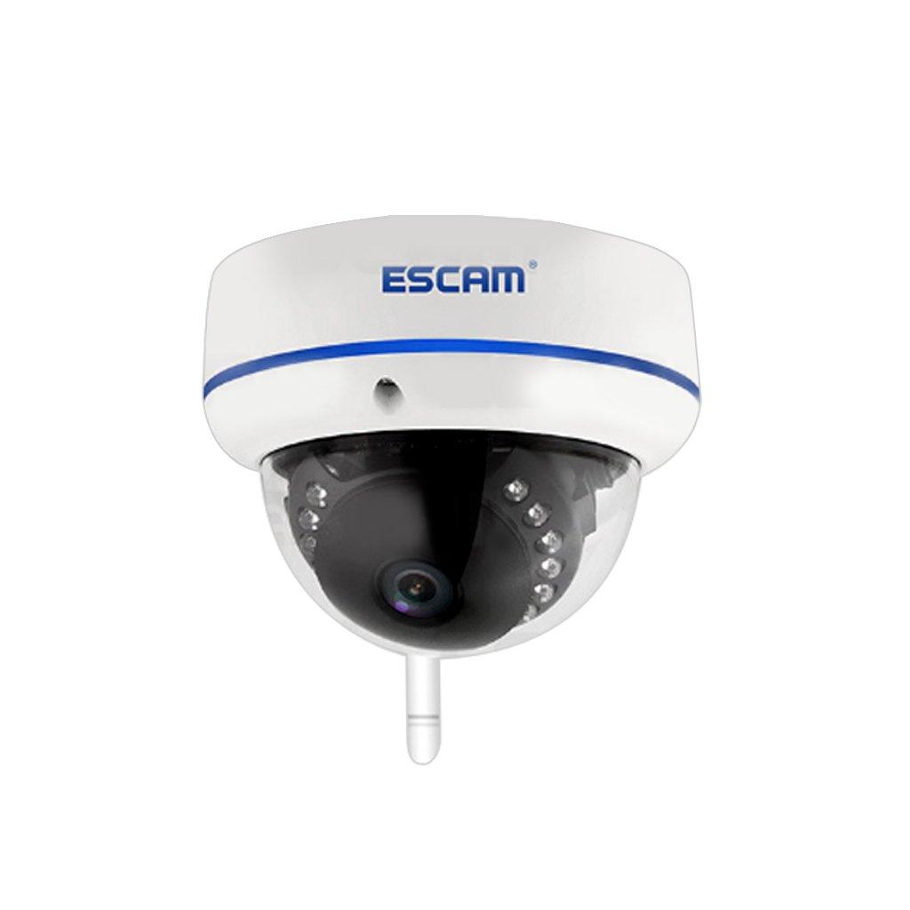 【ノーブランド品】ESCAM Speed QD800 1080P 2MP WIFI ドーム 赤外線 暗視ネットワークカメラ *米国規制のプラグ B01LGB2EH8