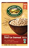 Nature's Path Organic Hot Oatmeal, Regular Steel Cut, 11.2 Ounce (Pack of 6)