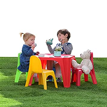 Amazon De Starplast Kinder Sitzgruppe Kindertisch Kinderstuhle