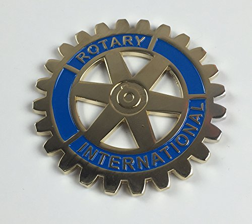 "Rotary International 3"" Auto Emblem"