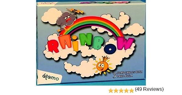 Atomo Games Rainbow. El juego de cartas: Amazon.es: Juguetes y juegos