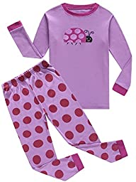 IF Pajamas Baby Girls Pajamas 100% Cotton Clothes Infant Kids Pjs 6-12 Months