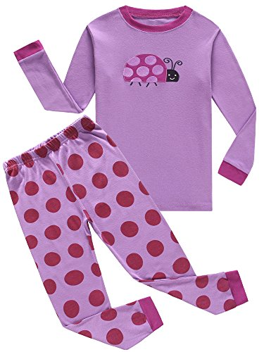 IF Pajamas Baby Girls Pajamas 100% Cotton Clothes Infant Kids Pjs 18-24 Months