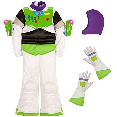Disney Store Buzz Lightyear Light Up Toy Story Costume Size XXS 3 3T (Disney Buzz Lightyear Costume)