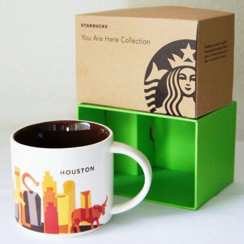 Houston Mug - STARBUCKS YOU ARE HERE COLLECTOR's COFFEE MUG HOUSTON, TEXAS [Collectible Coffee / TEA Mug]