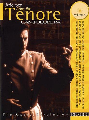 (Arias for Tenor Volume 4: Cantolopera Series)