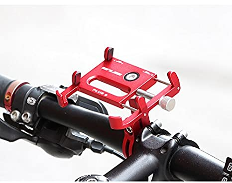 Gub Plus 9 Rotating Bike Phone Holder for 3.5-6.2inch Smartphone 360 Degree Rotatable GPS Bicycle Phone Stand Motorcycle Support