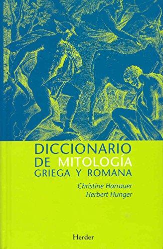 Diccionario de mitologia griega y romana (Spanish Edition)